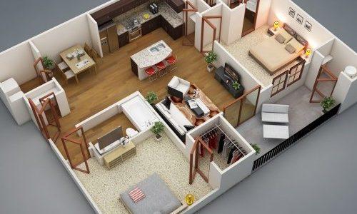 Изображение - Вызвать кадастрового инженера 2-bedroom-house-plan-600x450-600x300-500x300